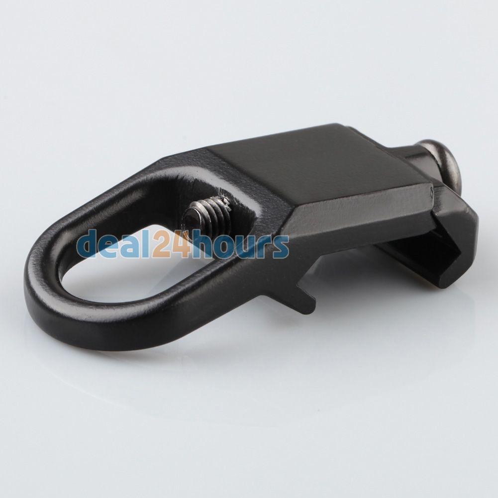 Neue Sling Montageplatte Adapter Befestigung passt 20mm Picatinny-schiene-schwarz Kostenloser Versand!