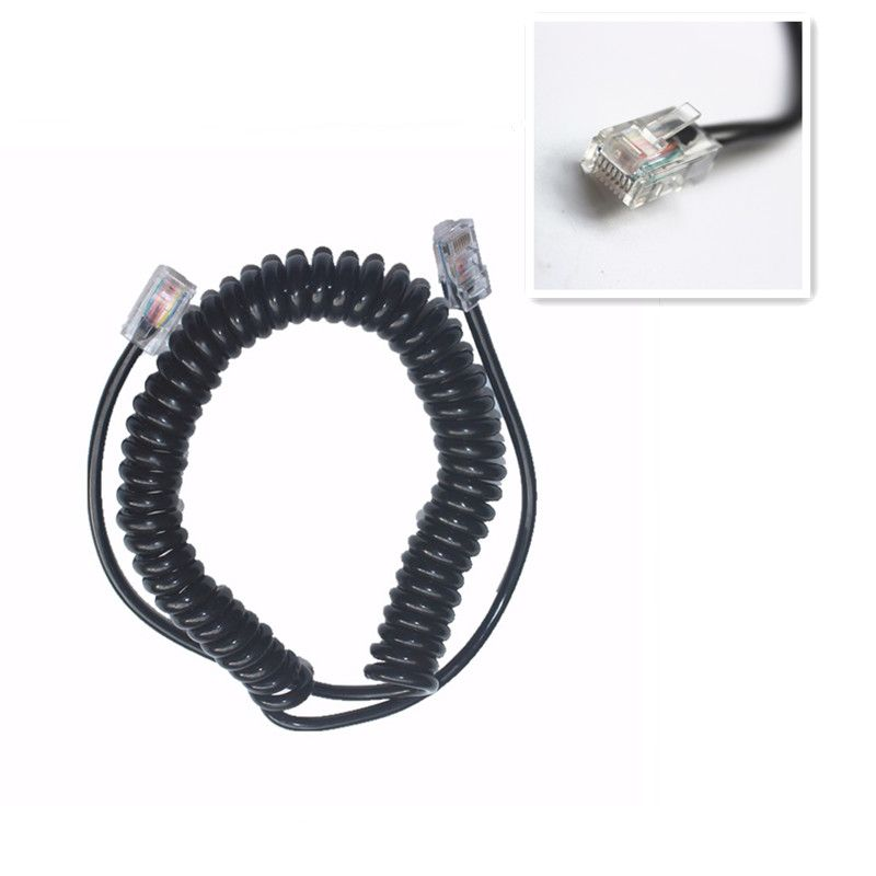 1pc walkie talkie 8 Pin for IC OPC-1153 Replacement Mic Cable For HM-98/HM98 HM-133V/HM133V
