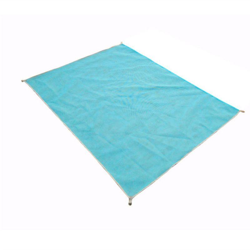 Brand sand-free beach mat blue/<font><b>green</b></font>/red 200*150cm/200*200cm sand free beach mats new Sandbeach mat