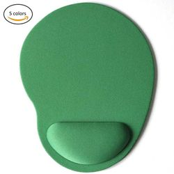 Mouse Pads 3D With Wrist Rest Support Mouse Pad Silicone Gel Hand PU Anti-slip Hand Pillow Memory Cotton Gaming Mouse Pad Mat