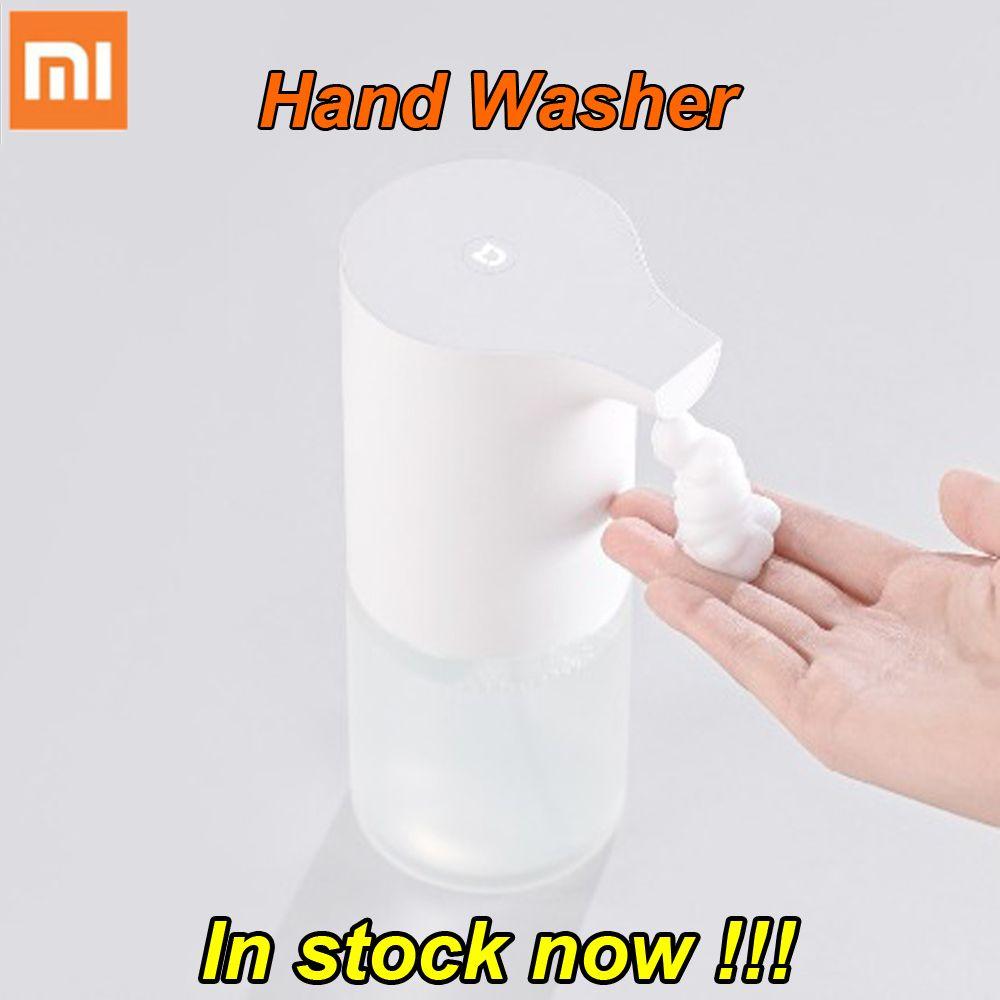 À vendre 100% D'origine Xiaomi Mijia Auto Induction Moussant Main Rondelle Lavage Automatique Savon 0.25 s capteur à infrarouge Pour Les Maisons Intelligentes