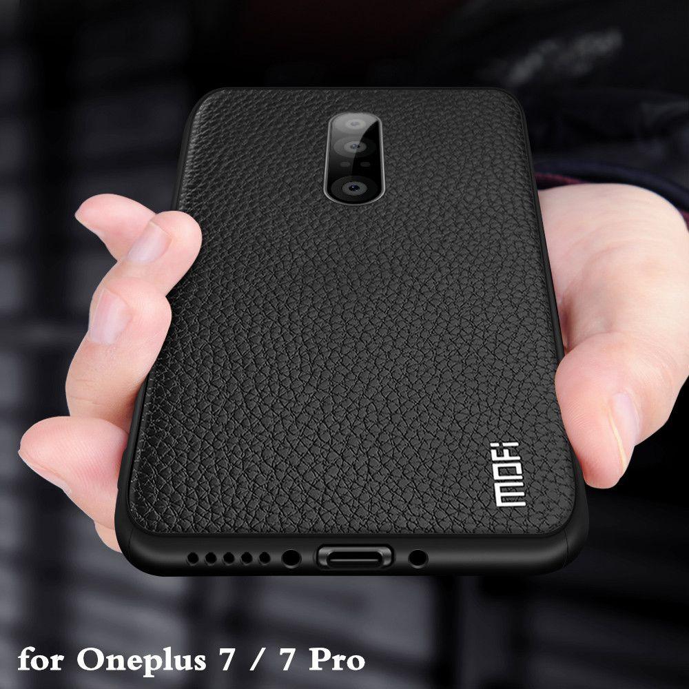 Pour Huawei P30 Coque pour P30 Pro Coque P30 Lite boîtier Nova 4E Coque Silicone PU cuir dos TPU MOFi Original Ascend