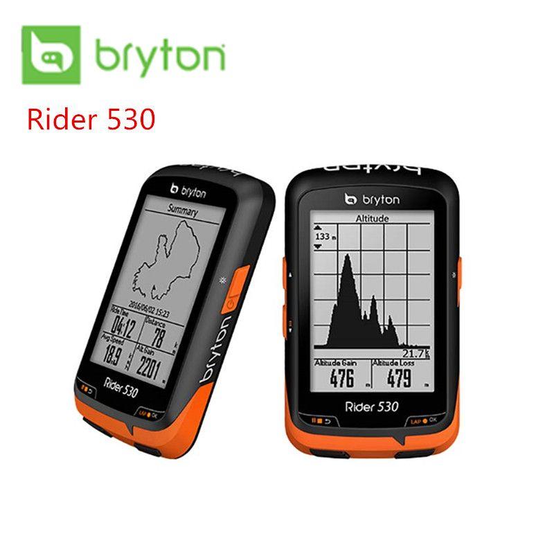 Bryton Reiter 530T GPS Fahrrad Fahrrad Radfahren Computer & Erweiterung Mount ANT + Speed Cadence Dual Sensor Herz Rate monitor R530