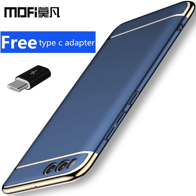 Xiaomi mi 6 housse xiaomi mi6 couverture arrière de protection rigide commune téléphone capas luxe MOFi d'origine xiaomi mi6 cas 5.15