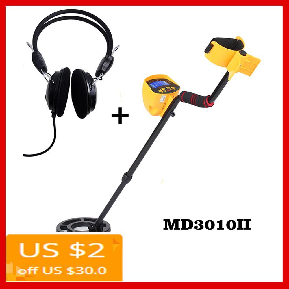 MD3010II Unterirdischen Metall Detektor Suche Schatz empfindliche Gold Digger Schatz Hunter Metall Finder Suche Werkzeug MD-3010II