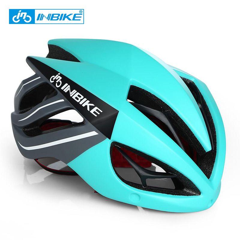 INBIKE Cycling Helmet Bicycle Helmet Magnetic Goggles Mountain Road Bike Helmets Sunglasses Cycling Glasses 3 <font><b>Lens</b></font> Bike Helmet
