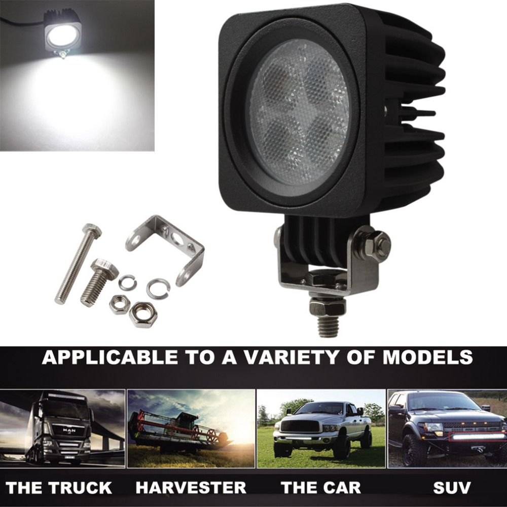 40W Waterproof 12V / 24V LED Each Modular Work Lamp Offroad Car Flood Light for Auto ATV Truck SUV 4x4 off road Vehicle