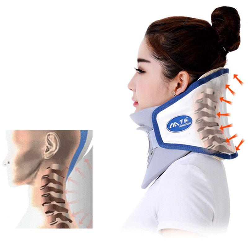 Dispositif de traction cervicale collier gonflable d'équipement de massage de soins de santé dispositif soins infirmiers