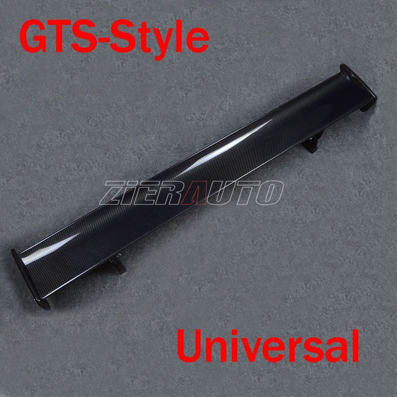 Trunk Spoiler for BMW M3 E92 E46 GTS Style Carbon Fiber Universal Wing