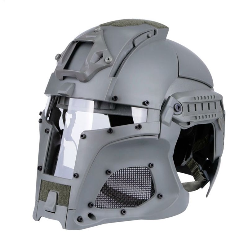 Taktische Outdoor Helm Full Face Atmungs CS Jagd Militär Armee Airsoft Schutz Effektive Gesicht Schutz