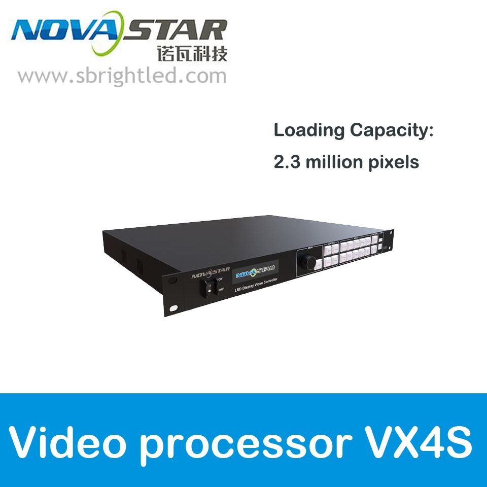 NOVASTAR VX4S video processor All-in-1 Controller with built-in sender for full color RGB LED display video screen wall