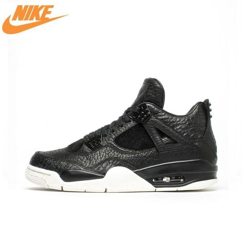 Nike Air Jordan 4 Laser AJ4 Breathable männer Basketball-schuhe, Neue Ankunft Authentische Männer Outdoor-Sport Turnschuhe