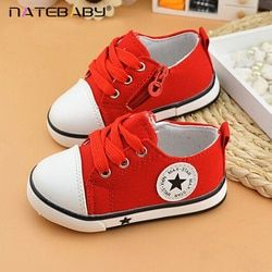 Natebaby Classic children's Shoes Soft Sole Girl Boy Casual Shoes Pure Korean Lace 2017 New Wholesale NG0524