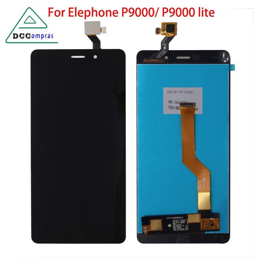 Pour Elephone P9000 LCD écran tactile numériseur pièces de téléphone pour Elephone P9000 écran LCD outils + film trempé