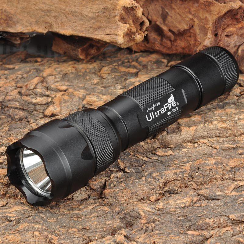 UltraFire 502B CREE XM-LT6 3 Mode lampe de poche LED Portable torche lanterne chasse Camping 18650 lampe de poche luz Flash + cadeau USB Ni