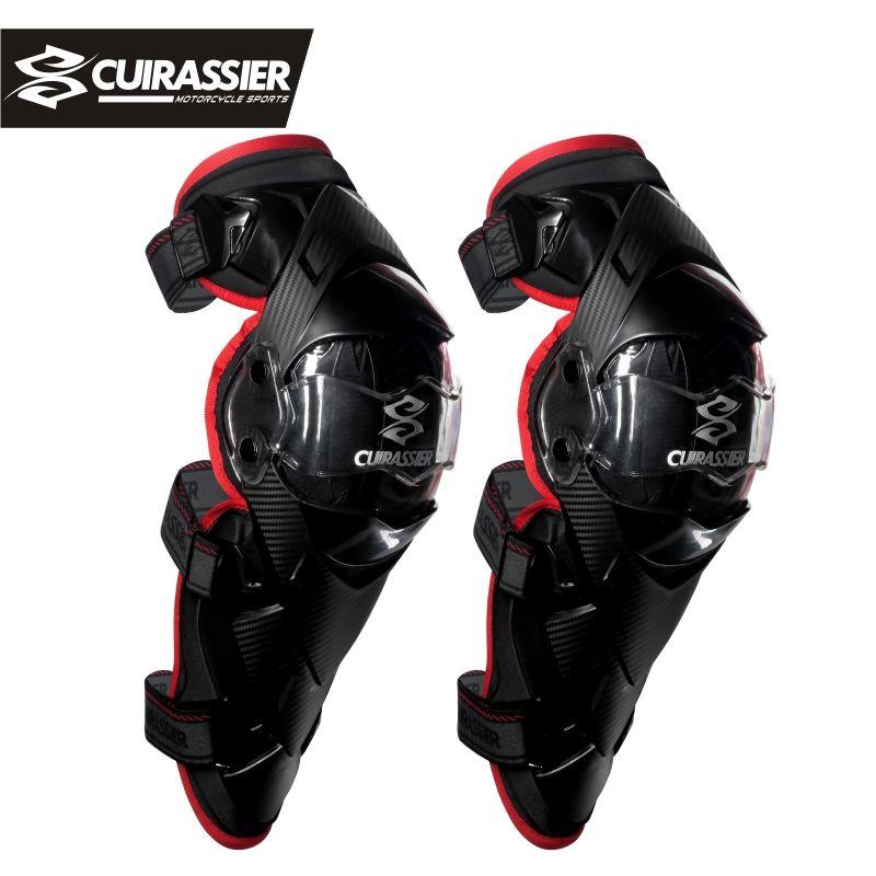 Кирасир K09 мотоцикл колено защитника Мотокросс оборудования горные Байк MTB MX protecciones Off Road Гонки Kneepad