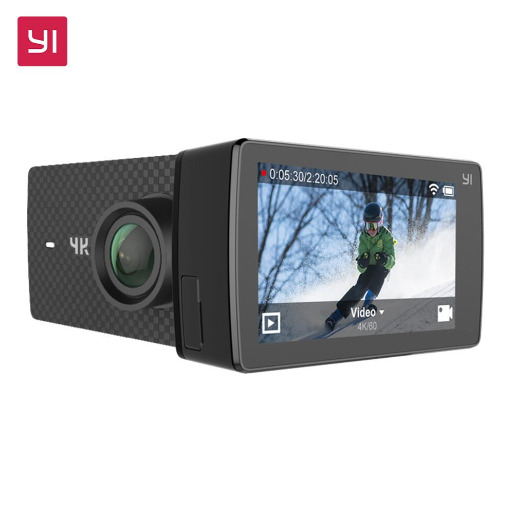 YI 4K+(Plus) Action Camera Xiaomi Yi Sport Cam Support Wifi Live Streming 2.2