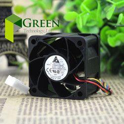 Asli Delta FFB0412SHN 4028 40 MM daya 1U 2U server fan Besar kipas Pendingin 12 V 0.45A dengan 4pin