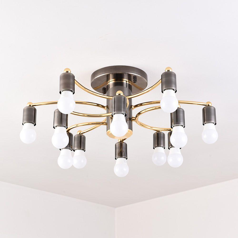 Neue stil Moderne Led Decke hängen Lichter Für Wohnzimmer Schlafzimmer multi-köpfe E27 Decke unten Beleuchtung Leuchten AC85-260V