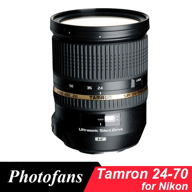 Tamron SP 24-70 mm f/2.8 DI VC USD Lens for Nikon (A007)