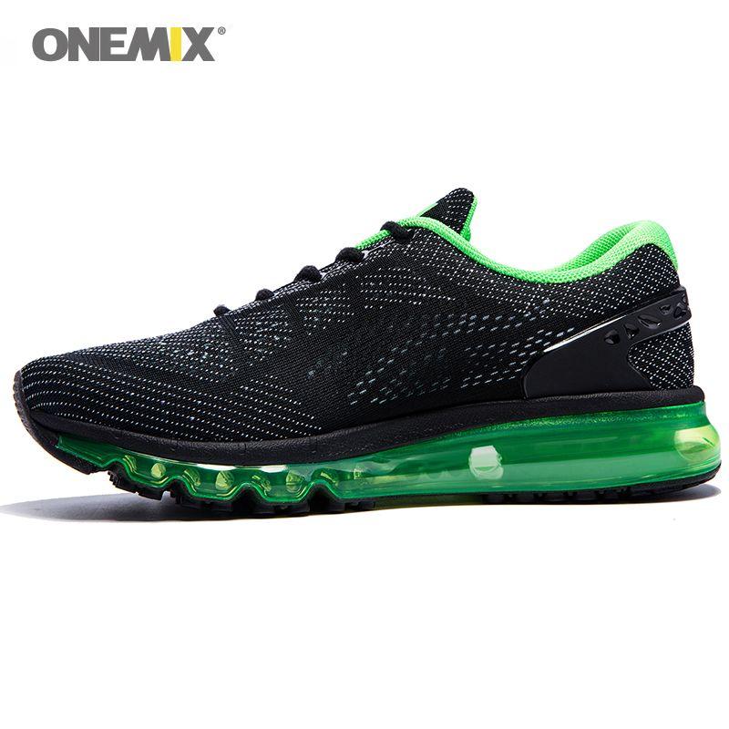 Onemix hommes femmes Air course chaussures pour hommes Air marque 2017 sport de plein Air baskets homme athlétique chaussure respirant zapatos de hombre