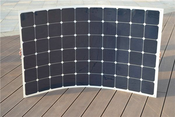 Boguang 180w flexible solar panel cell module solar charger mc4 connector for solar system 12v battery car RV yacht home charge
