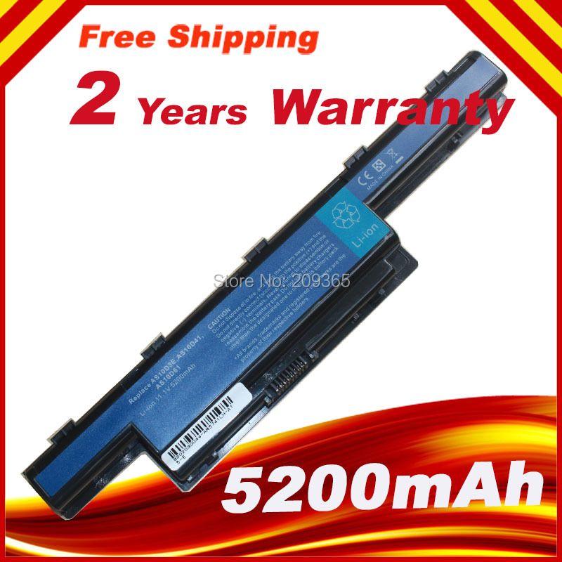 Batería del ordenador portátil para Acer Aspire V3-771 V3-471 V3-731 V3-551 V3-571 para eMachines E732 para TravelMate 4740 4750 G 4370