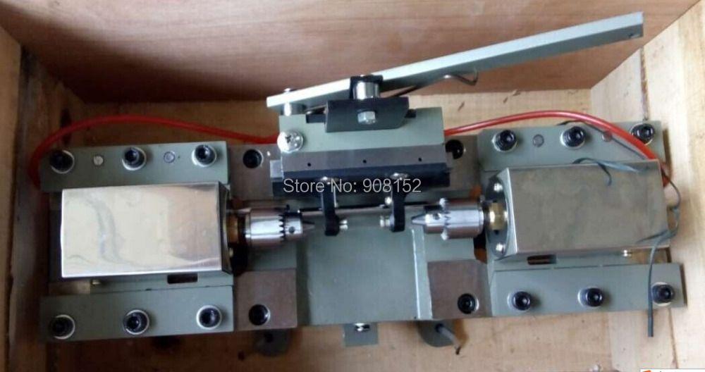 Perle Achat Bernstein Perlen Doppel Kopf Bohren Maschine, Zwei-weg bohren maschine Schmuck bohren werkzeug & Ausrüstung