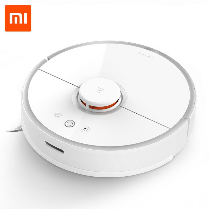 2018 Xiaomi Vacuum Cleaner 2 Mi Roborock S50 <font><b>Robot</b></font> WIFI APP Control Wet drag Mop & Sweep Smart Planned with water tank for home