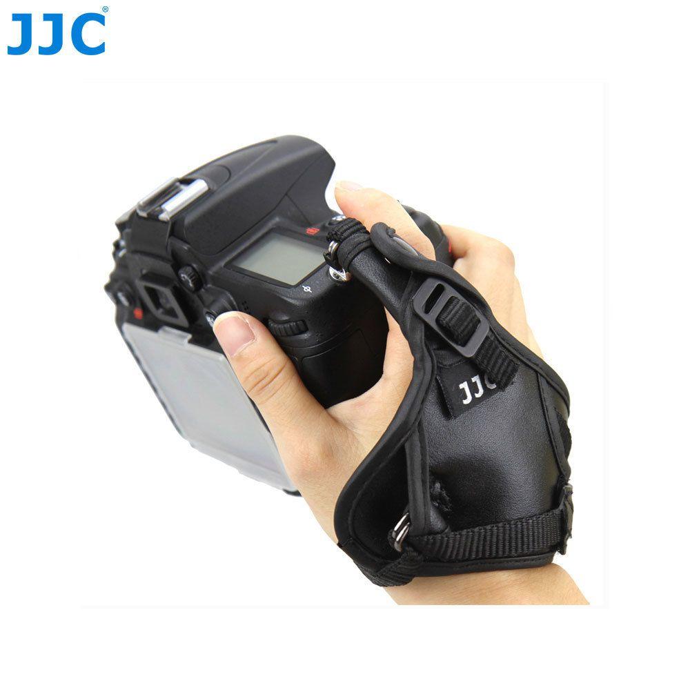 JJC meilleur bracelet en cuir véritable avec poignée pour appareil photo numérique pour Nikon D800 D3X D700 D300 D300S D5000 D200 D80 D60 As AH-4