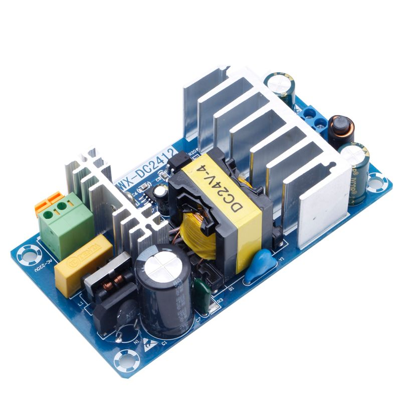 For Power Supply Module AC 110v 220v to DC 24V 6A AC-DC Switching Power Supply Board Promotion