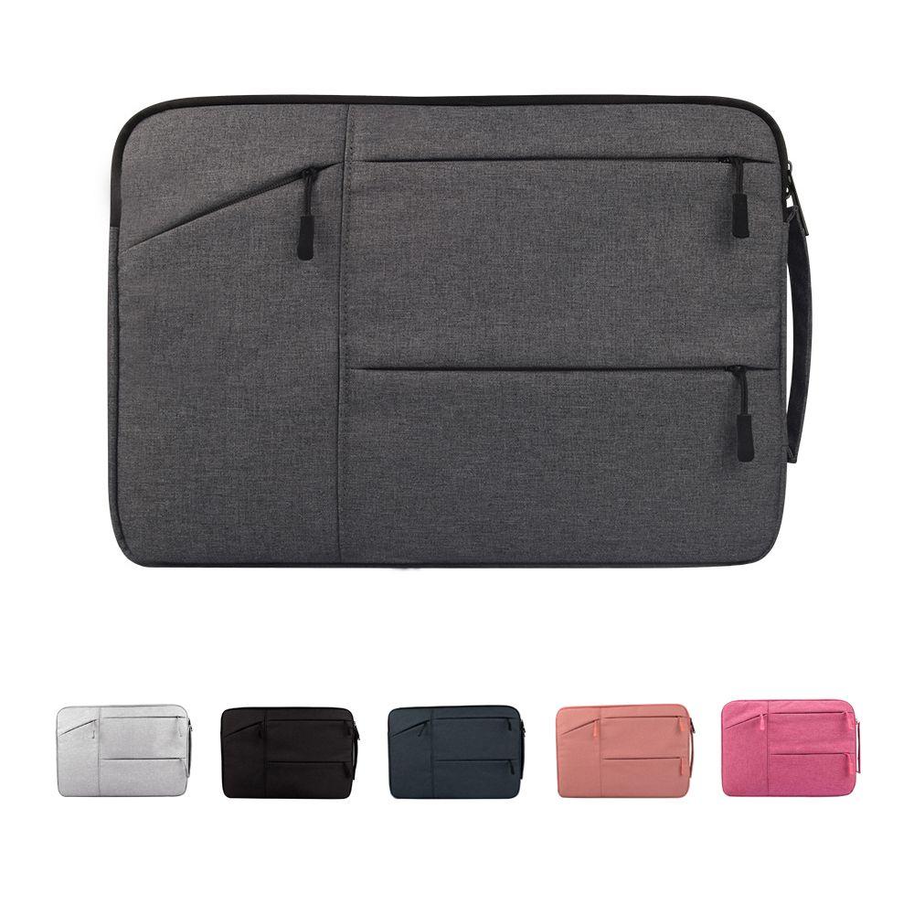 Nylon Laptop Bag Notebook Bag 13.3 15.6 Case For 2018 New <font><b>Macbook</b></font> Pro 13 15 Laptop Sleeve 11 12 13 14 15 inch Women Men Handbag