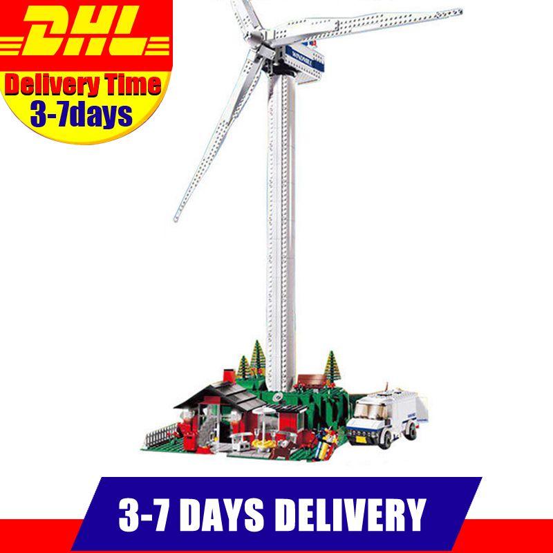 Lepin 37001 Creative Series The Vestas Windmill Turbine Set Children Educational Building Blocks Bricks Toys Model Gifts 4999