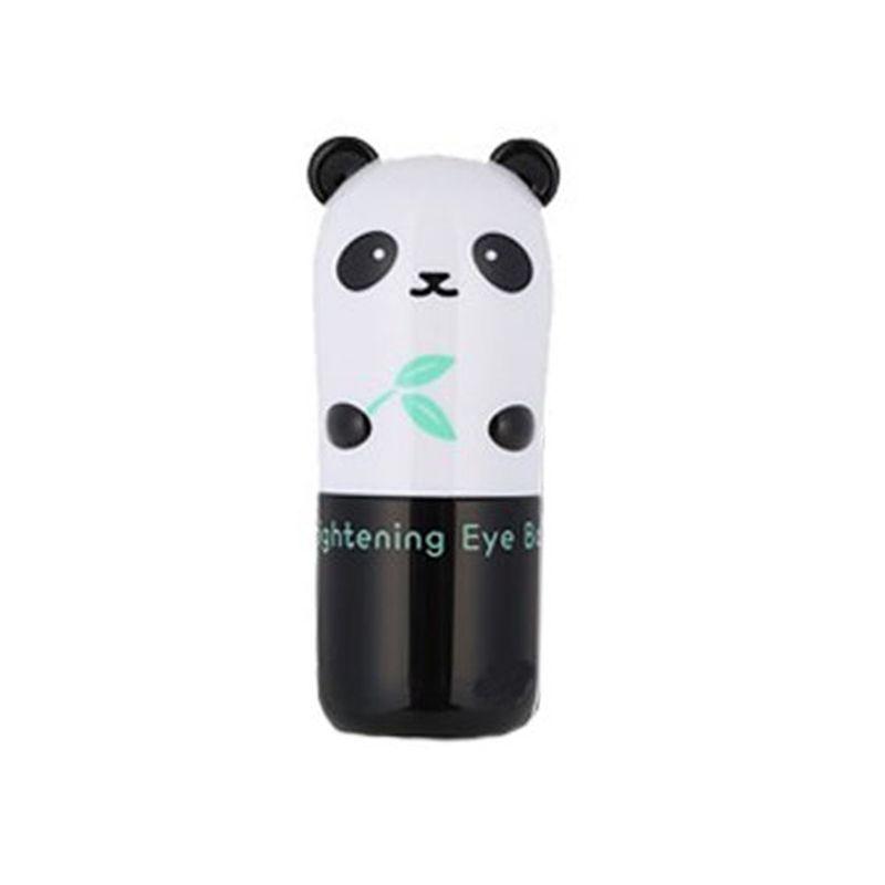 Corée cosmétique Panda éclaircissant Base pour les yeux 9g soin des yeux Anti-rides correcteur Base maquillage crème pour les yeux hydratant Anti-poches