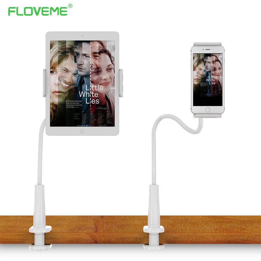 FLOVEME Langen Arm Tablet-Halter Für iPad Faule Bed Halter Ständer Tablet Montieren Unterstützung Tablette Halterung Für Laptop
