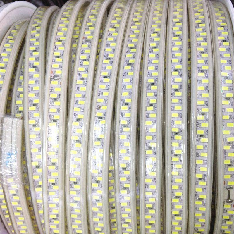 Newest 110V 220V LED Tape 5630 SMD Diode 180led/m Xmas Home Hotel Decor High-end 5730 Strip Light Waterproof 20m 50m 100m