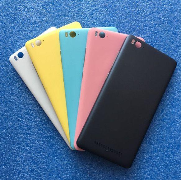Axisinternational For Xiaomi 4C Mi4C M4C Back battery cover+ Flash+side keys+ sim tray gray/white/yellow/pink/blue Free shipping