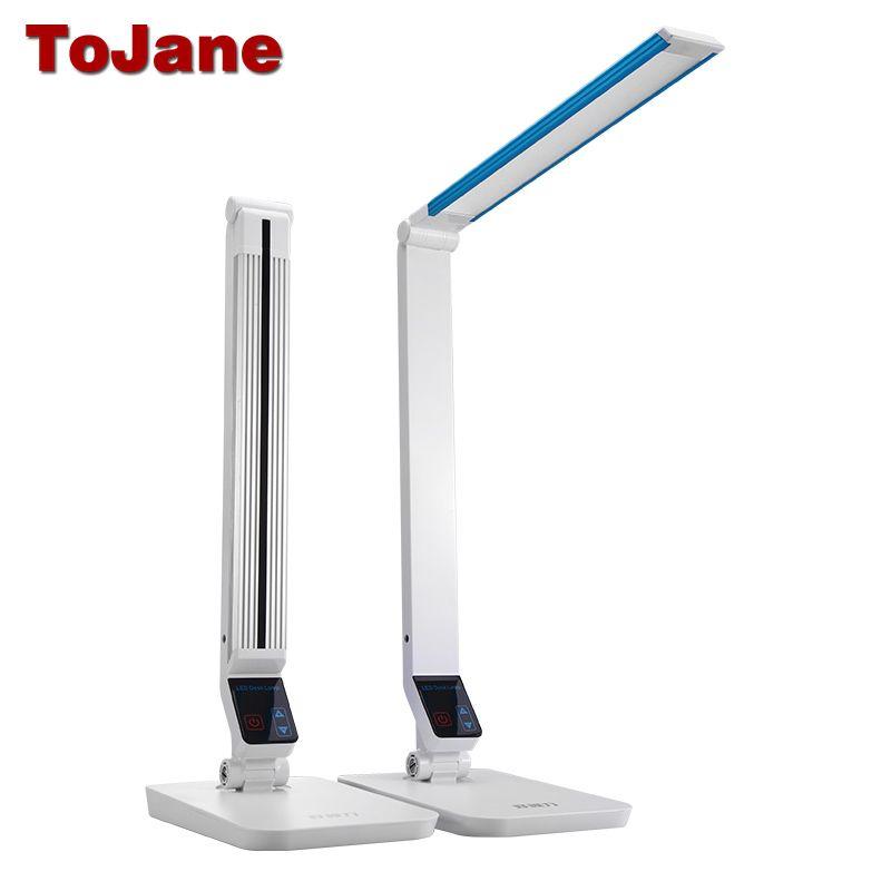 ToJane TG199S Desk Lamp 10W Led Reading Lamp Aluminum Alloy LED Table Lamps For Bedrooms Multitude Brightness Led Desk Lamp