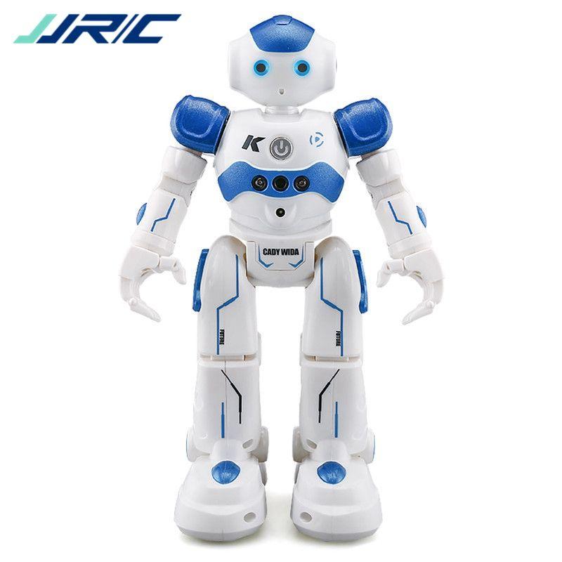 В наличии! Jjr/c jjrc R2 зарядка через USB Танцы жест Управление RC робот игрушка Синий Розовый для Для детей подарок на день рождения подарок