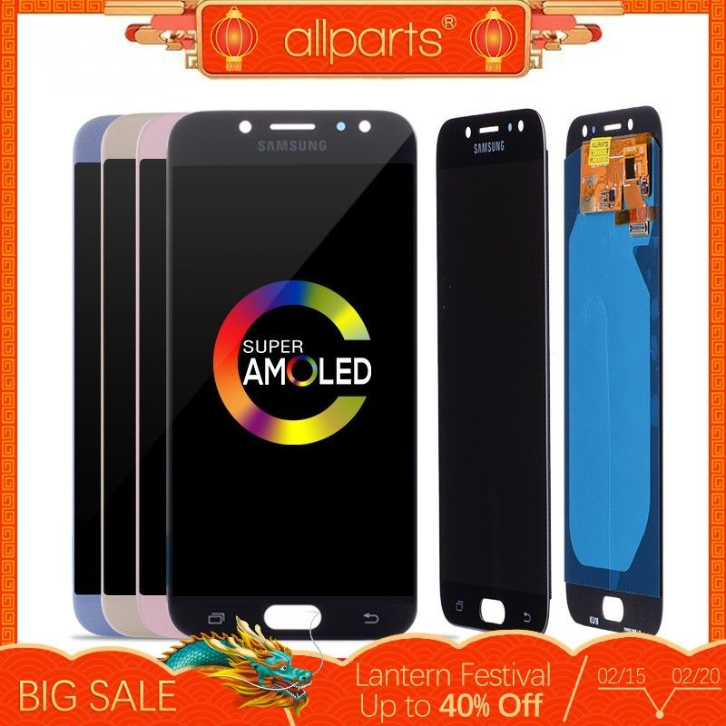 Original AMOLED LCD for SAMSUNG Galaxy J7 Pro Display and Touch J730 J730F OLED For SAMSUNG J7 Pro LCD Screen Replacement #2