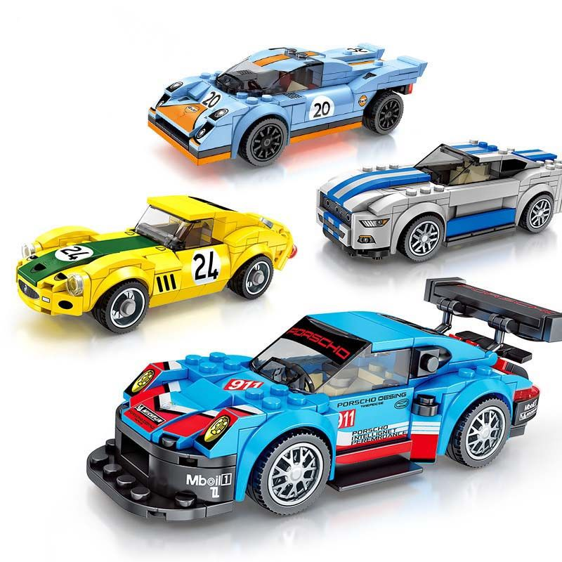 New Technic City Super Racers Speed Supercar Racing car For children Christmas gift Compatible With Legoings car