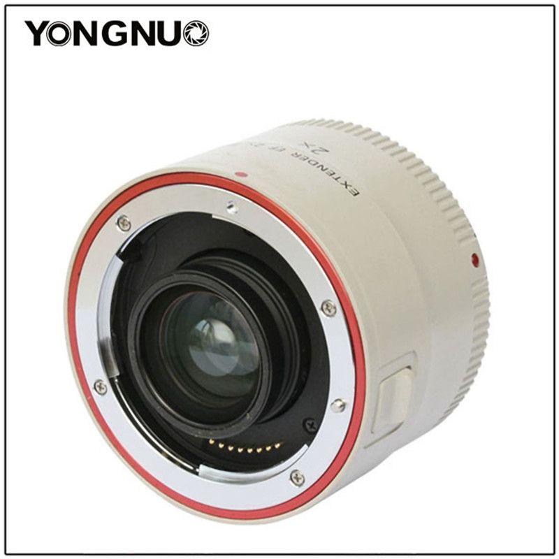 Yongnuo YN-2.0X III PRO 2x Teleconverter Extender Auto Focus Mount Lens Camera Lens for Canon EOS EF Lens 650D 1000D 1100D 500D