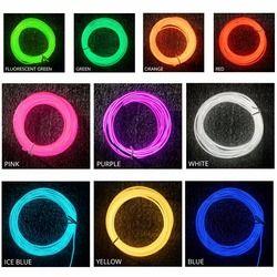 1 м 2 м 3 м 4 м 5 м неоновый проводной Контролер светодиодной полосы 3 режима 10 цветов Светодиодная лента свет с контроллером для автомобиля Тан...