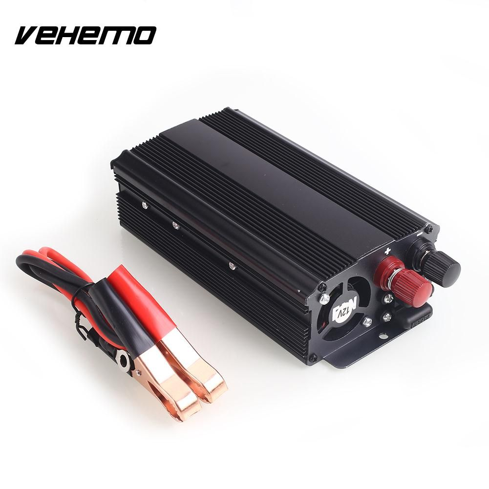 Vehemo 600W Power Inverter Automobiles Car Inverter Portable Electronics Converter Travel Stable Accessories