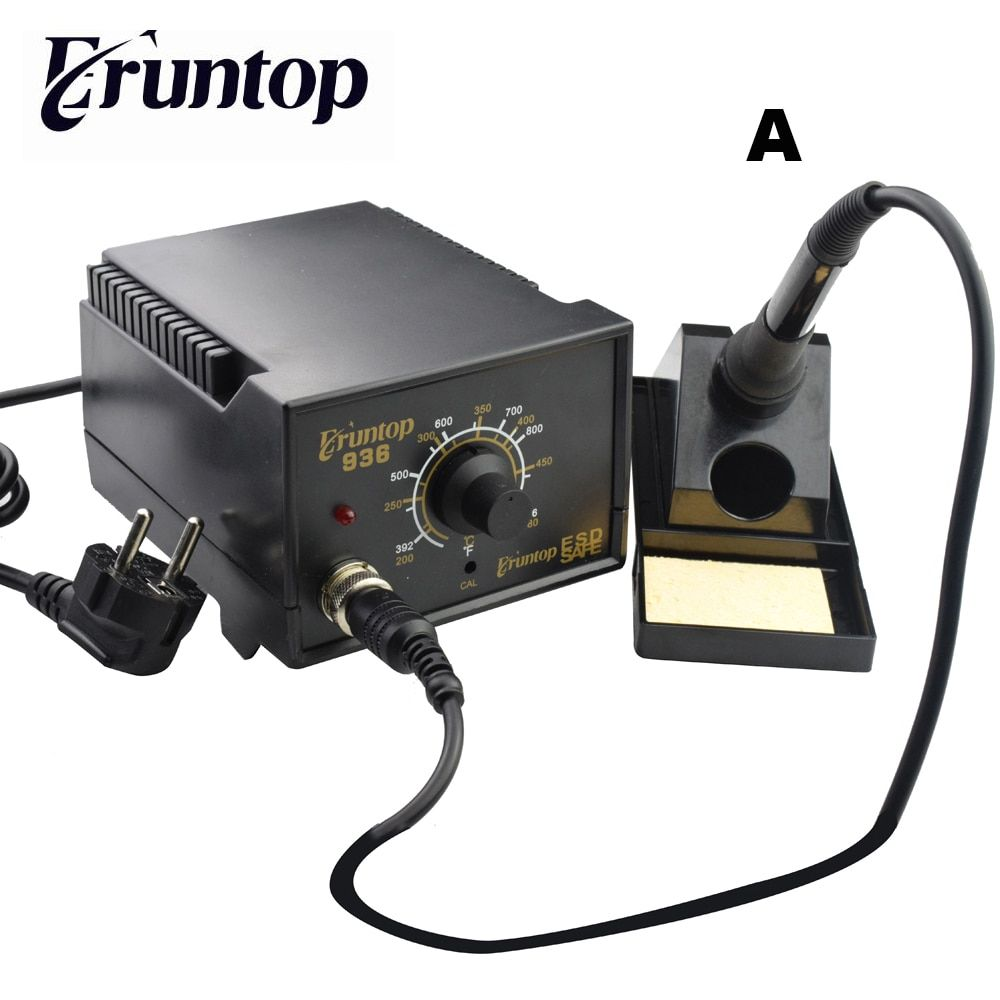 High Quality 60W Soldering Station Electric Solder Iron Eruntop 936 Better Than for Hakko 936