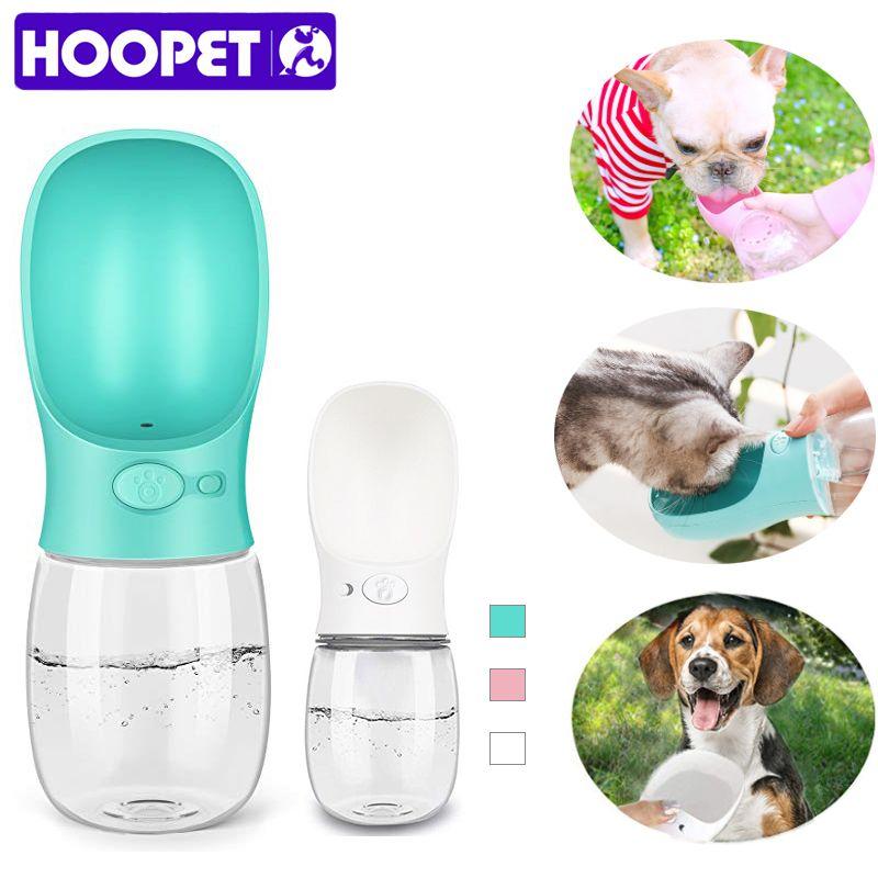 HOOPET Dog Water Bowl Dog Bottle Bowls for Cats Cat Feeder Drinking Bowl fot dogs Dog Waterer Water Dispenser Feeder