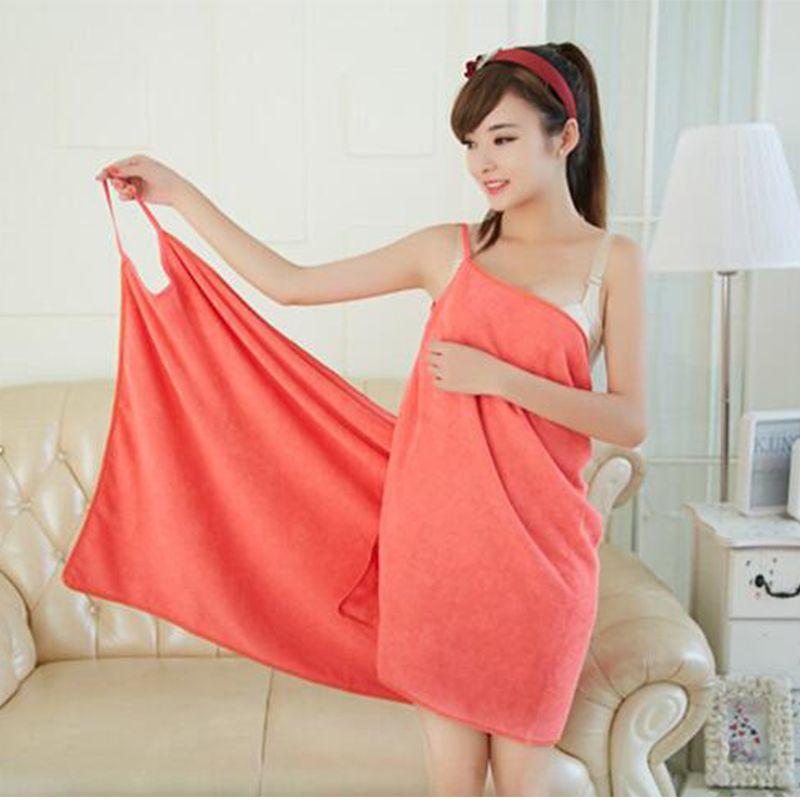 NarwalDate chaud femmes Sexy peignoir Terry coton microfibre serviette de bain plage porter robe de bain taille libre 150x70 cm livraison gratuite