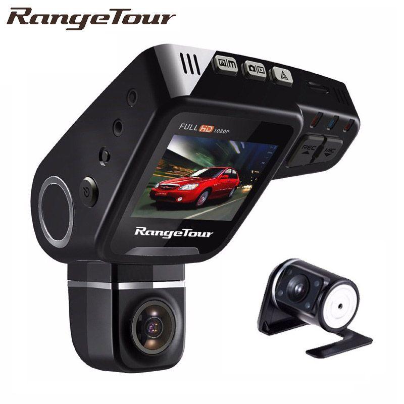 Range Tour C10s Plus Dual Lens Car DVR Dashboard Camera Full HD 1080P Dash Cam Night Vision 2 Inch LCD Video Recroder Camcorder