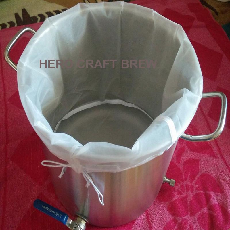 B DE TYPE Whisky brew filtre sac 29.9*44.9 CM seau bière filtre sac maille fine grain filtre sac