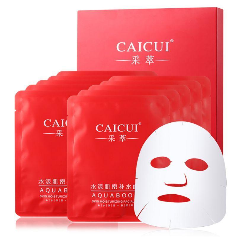 Nouveau 10 pcs/lot masque facial visage soins de la peau hydratant traitement de l'acné blanchissant collagène peeling beauté blanchissant